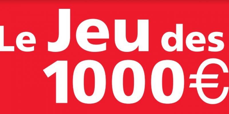 Jeu des 1000 euros - France Inter