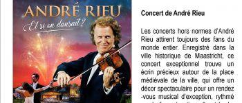 Concert de André Rieu : \ et si on dansait ? \ Guingamp