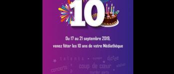 10 ans de la médiathèque Montauban-de-Bretagne
