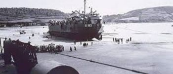 Débarquement sur la plage de Saint Michel en Grève, commémoration et souvenirs Saint-Michel-en-Grève