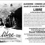 Projection du film \Libre\ de Michel Toesca Audierne