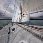 Route du Rhum : départ du bateau « Saint-Cast-Le-Guildo / Terre Exotique » pour St Malo Saint-Cast-le-Guildo