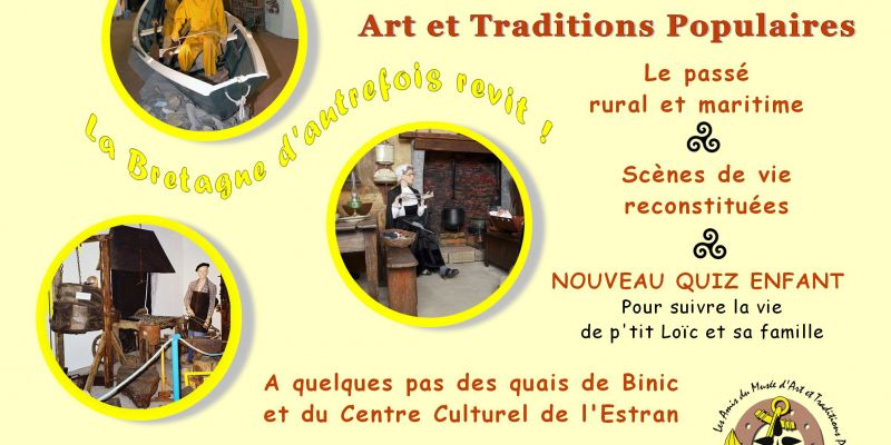 English guided tour in the museum of Folk Arts and Traditions
