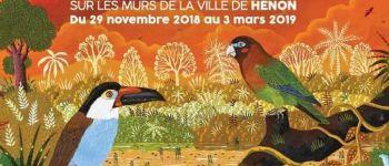 Exposition Alain Thomas \Un hiver Flamboyant\ à Hénon Hénon