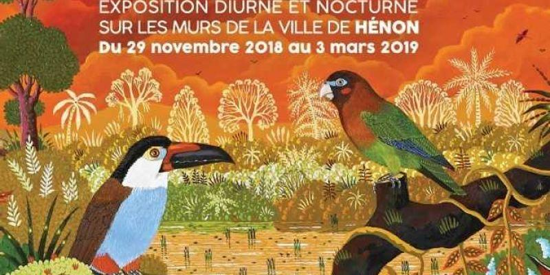 Exposition Alain Thomas Un hiver Flamboyant à Hénon