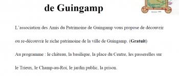Visite Patrimoine de Guingamp Guingamp