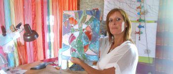 Visite de l\atelier vitrail Lanildut