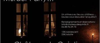 Murder Party au Château de Quintin Quintin