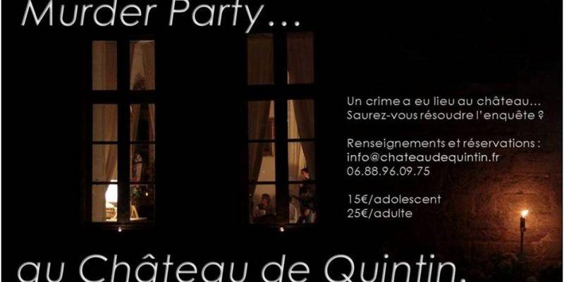 Murder Party au Château de Quintin