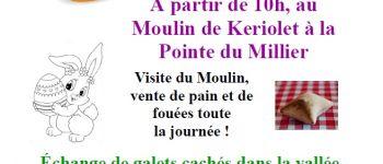 Chasse aux œufs au Moulin de Keriolet Beuzec-Cap-Sizun