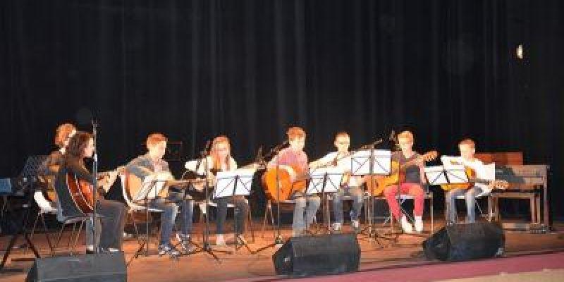 Concert des confirmés de lécole Jeanne Morel à Maen Roch