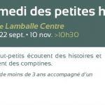 Samedi des petites histoires Lamballe