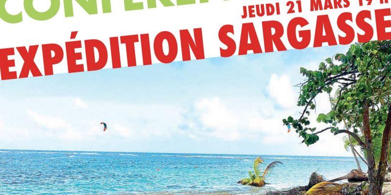 L'échouage massif des Sargasses dans les Caraïbes - Conférence