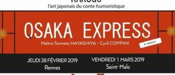 Rakugo Osaka Express - Saint-Malo Saint-malo