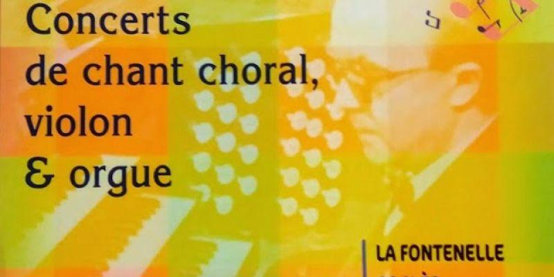 Festival Jean Langlais - Concert de lEnsemble In Contrà, à La Fontenelle (Val-Couesnon)