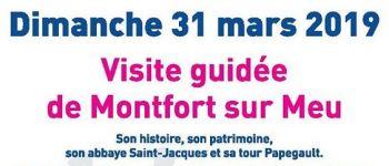 Journée mondiale de sensibilisation à l\autisme - visite guidée de Montfort-sur-Meu Montfort-sur-Meu