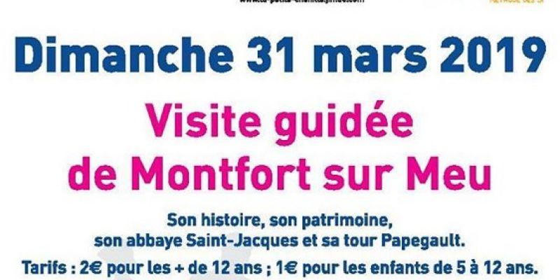 Journée mondiale de sensibilisation à lautisme - visite guidée de Montfort-sur-Meu