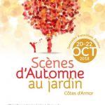Scènes d\automne au jardin, au Jardin de Kerenez Saint-Agathon