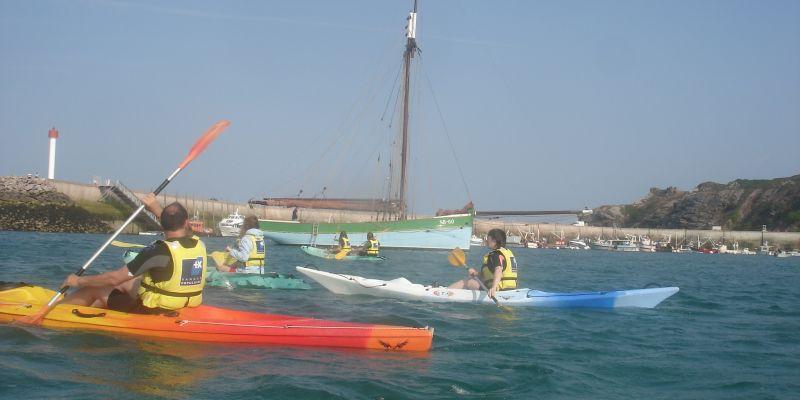 Itinérance : Sables dOr-les-Pins / Anse du Croc en kayak