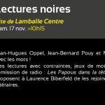 Lectures noires Lamballe