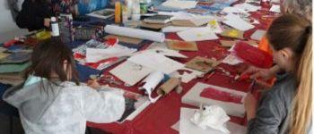 Atelier gravure pour jeunes Saint-Connan