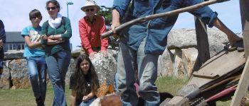 Histoire d'or et de métaux, démonstration de fonte de minerai Penmarch