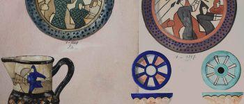 Tapisserie de Bayeux : inspiration faïence Quimper