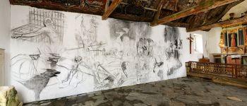 Oeuvre contemporaine de Marc Bauer à la chapelle Sainte-Tréphine Pontivy