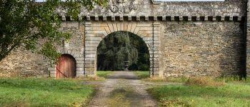 Le jardin et dépendances du château de la Touche Nozay