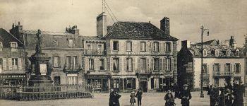 Projection de cartes postales anciennes Lesneven
