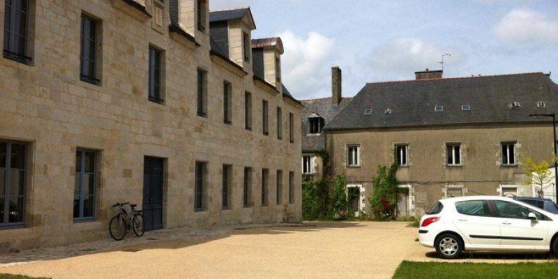 Visite de l'ancien hôpital Saint Antoine.