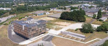 Visite partielle commentée de la DDTM du Morbihan : bâtiment exemplaire à haute performance environnementale. Vannes