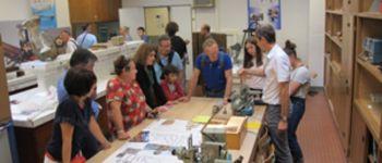 Démonstrations d\instruments de mesure et de machines de physique et de chimie Brest