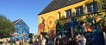 Visite des fresques polémiques du manoir du Ster Penmarch