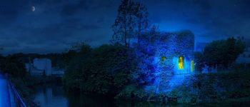 Inauguration du \chemin bleu\ de Yann Kersalé Quimperlé
