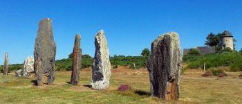 Visite découverte des alignements du Moulin et déplacement de menhir Saint-Just