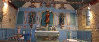 Visite libre de la Chapelle Sainte Marguerite au décor intérieur exceptionnel, dans un cadre verdoyant exceptionnel Sulniac