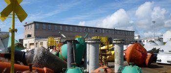 Visite commentée du parc et des ateliers de la subdivision des phares et balises Brest