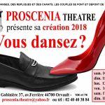 «... Vous dansez ? », création Proscenia 2018 Orvault