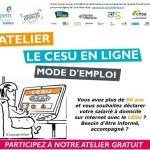 Atelier numérique : Cesu en ligne, mode d\emploi Ancenis