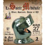 Soirée dîner spectacle médiévale Saint-Mars-du-Désert