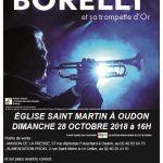 Jean-Claude Borelly et sa Trompette d'or en concert exceptionnel Oudon