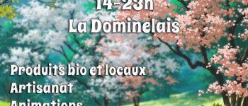 Au bio marché, le local fait sa fête samedi 25 mai 2019 La dominelais