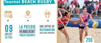 Tournoi de Beach Rugby (toucher) Hennebont