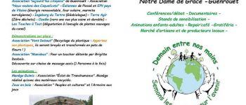 Festival association « demain entre nos mains » - notre dame de grâce – guenrouët (44) Guenrouet