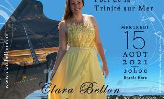 Récital lyrique sur l\eau avec la soprano clara bellon