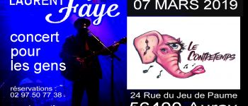 Laurent Faye en concert Auray