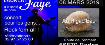 Laurent Faye en concert Baden