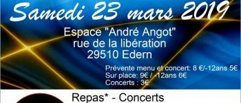 Soirée Crêpes Concert à EDERN. Edern