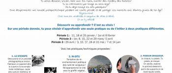 Stage arts plastiques - ados / office culturel langueux Langueux